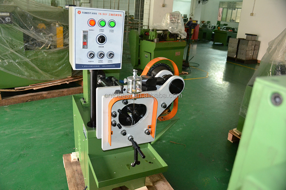 auto parts making machine small size pipe thread rolling machine