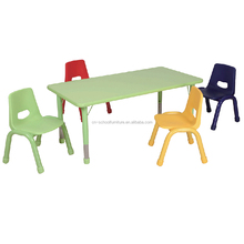 Kids Study Table Set Adjustable Height Children Desk And Chair