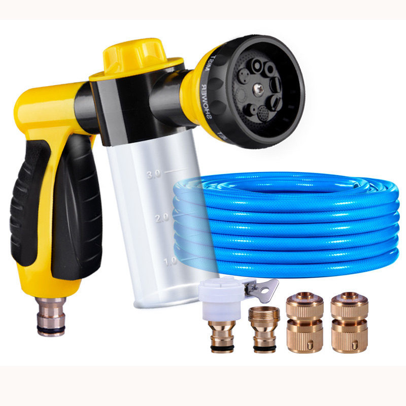 High Pressure Plastic Garden Water Spray gun / Home Car Washing Foam Cleaner