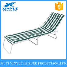 Folding Beach Lounge -- beach bed with foam