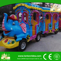 2016 Hot Shopping Mall Tourist Train Amusement Equipment Trackless Train