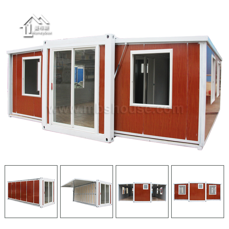 New design modern prefab shipping expandable container house price