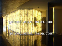 Artificial stone acrylic translucent decorative resin panels