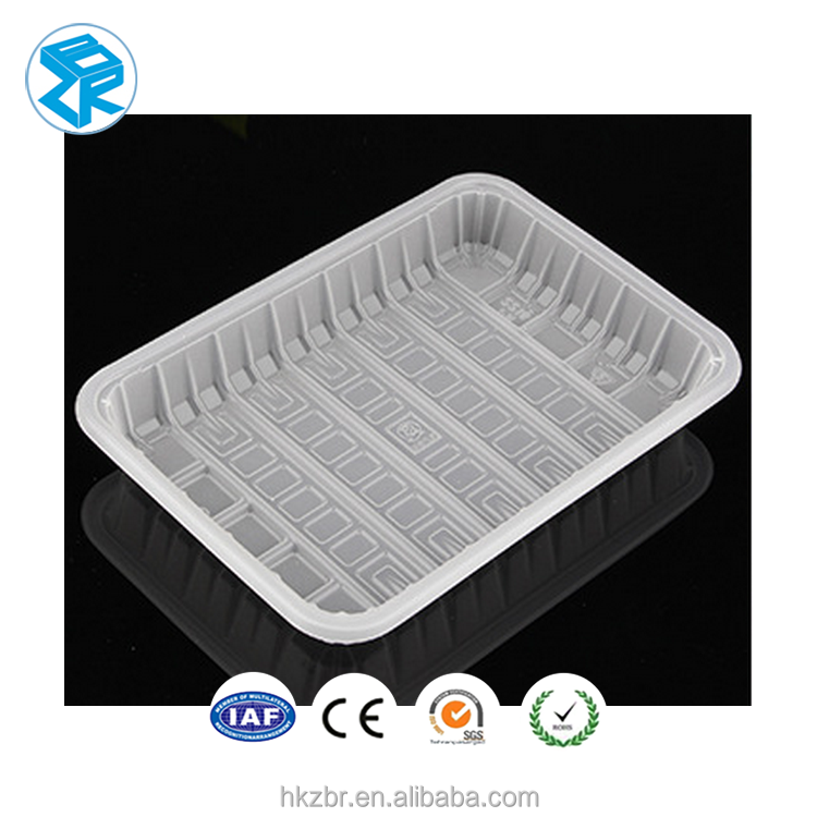 Plastic meat mushroom large chocolate blister packing trays Customized high quality hot selling