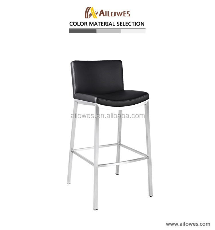 stainless steel stool bar chair metal bar stool supplier