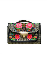 Chinese Traditional Handicraft Embroidered Vintage Stylish Ethnic Traditional Handbag