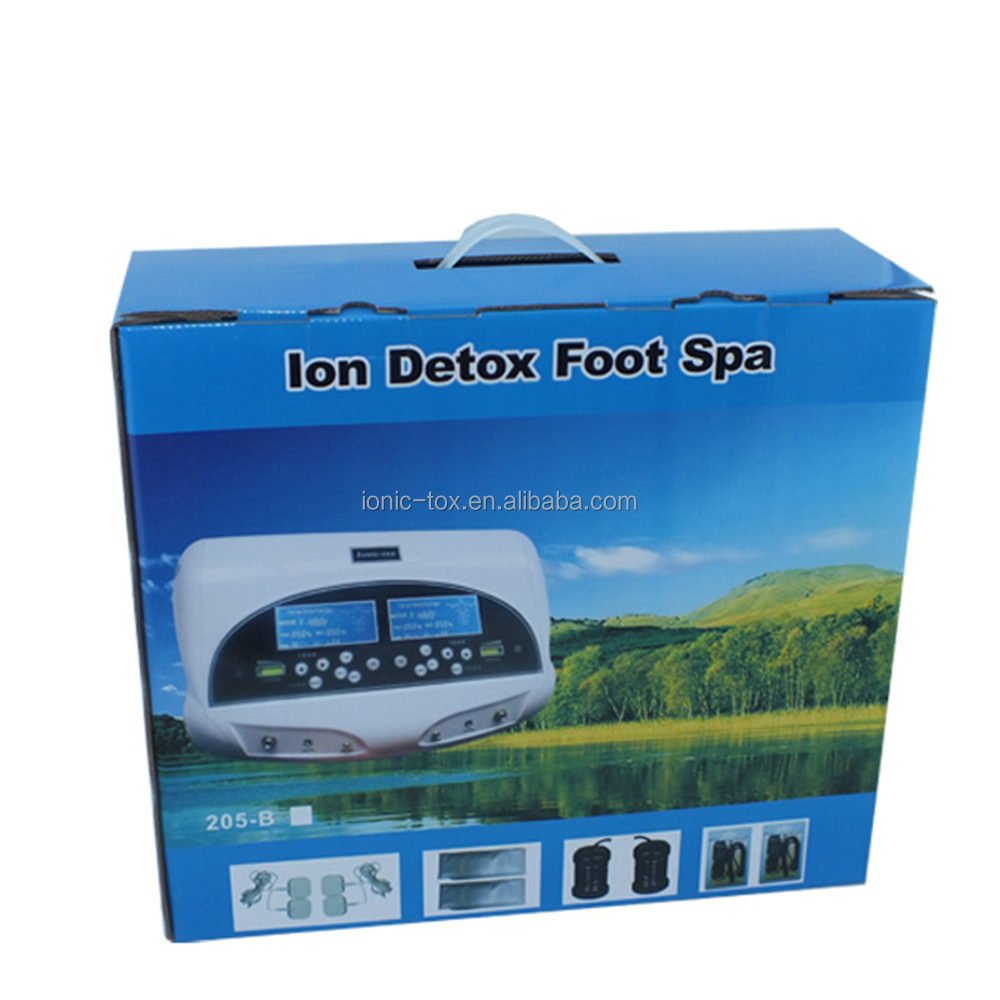 Dual system ion cleanse detox foot spa machine WTH-205-B Best Foot Spa Machine