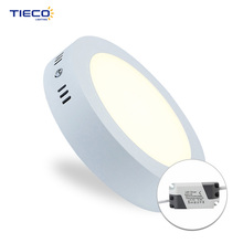 Brand new design round ultra-thin led drop ceiling light panel for interior lighting