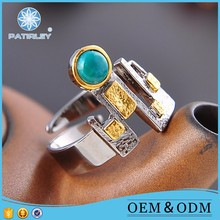 Beautiful unique fake smart rings jewelry women