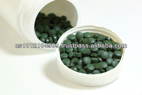 High Quality Dietary Supplement Tablets Organic Spirulina
