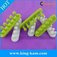 Silicone locking cable clip with 3M sticker