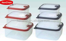 Canton fair wholesale plastic containers with lid