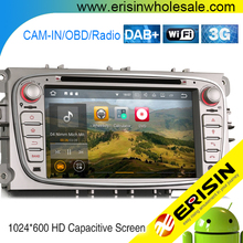 ES3709F Android 7.1 Car DVD Player GPS Sat Nav DAB+For Mondeo S/C-Max