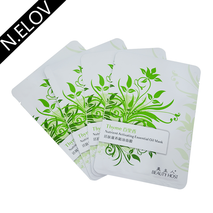 Thyme Whitening Nutrient Activating Essential Oil Sheet Face Mask