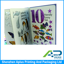 Custom hardcover children books printing in Aplus, cheap cardboard kid book