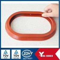 China Custom Molded Aviation Used Viton Rubber Seal Gasket/FKM Gasket Seal