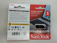 SDCZ71-008G SanDisk Cruzer Force USB 8GB Flash Drive