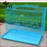 China Pretty Durable Cheap Galvanized Steel Chain Link Dog Kennel Lowes