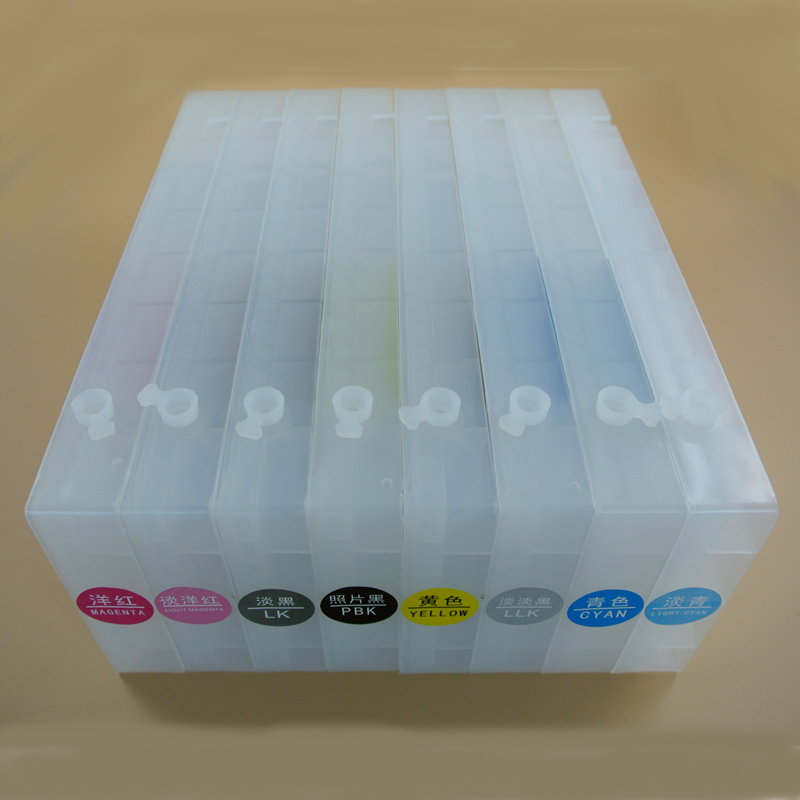 7800 refill ink cartridge with chip for Epson 9800 9880 7880 7450 9450 7400 9400 refillable cartridge