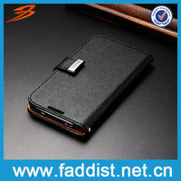 Flip Wallet Case Cover for Galaxy S4 i9500 Genuine Leather Cases