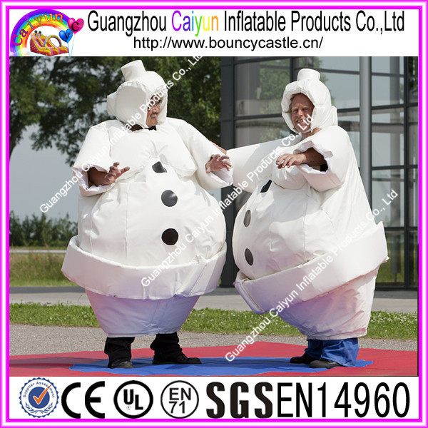 2016 Popular inflatable interactive game inflatable animal suit for sale