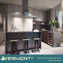 2018 Vermont New Design Read To Made Flat Packing Kitchen Cabinet