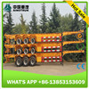 20ft 40ft Container Transport Flatbed Semi