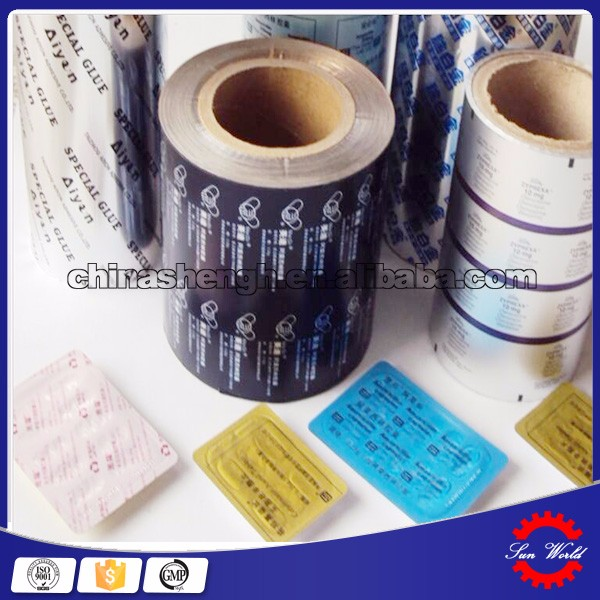 Medical Aluminum Foil PTP Medicine Package Aluminum Foil