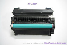 C7551A black toner cartridge ,original quality toner 7551a