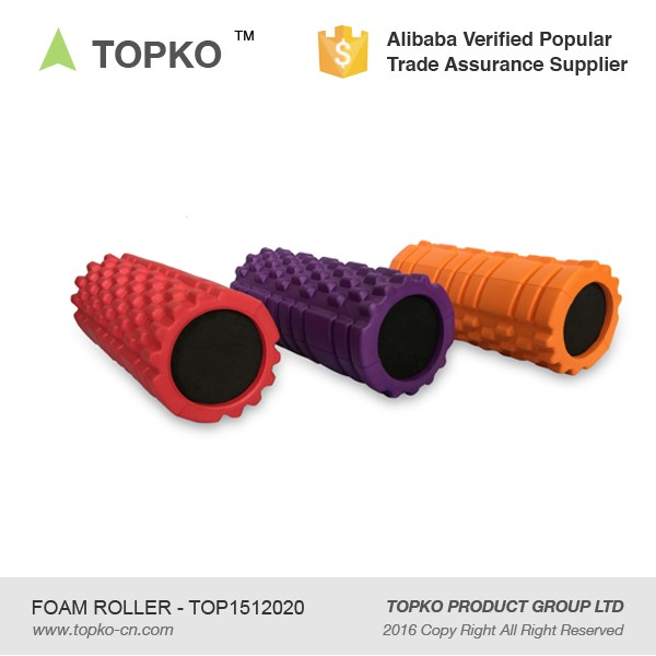 2016 New Design High Density Fitness Hollow EVA Foam Roller for Muscle Massage