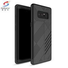 New arrival black armor cover for samsung note 8,tpu pc cover for samsung galaxy note 8