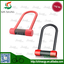 Alibaba China Hot sales Silicone Material Lock Combination U Lock Bike Lock