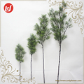 SFB37082-85 Garden Decorations Plastic Rosmarinus Leaves Spray Green Grass Plants Artificial Dry Cut Tree Branch