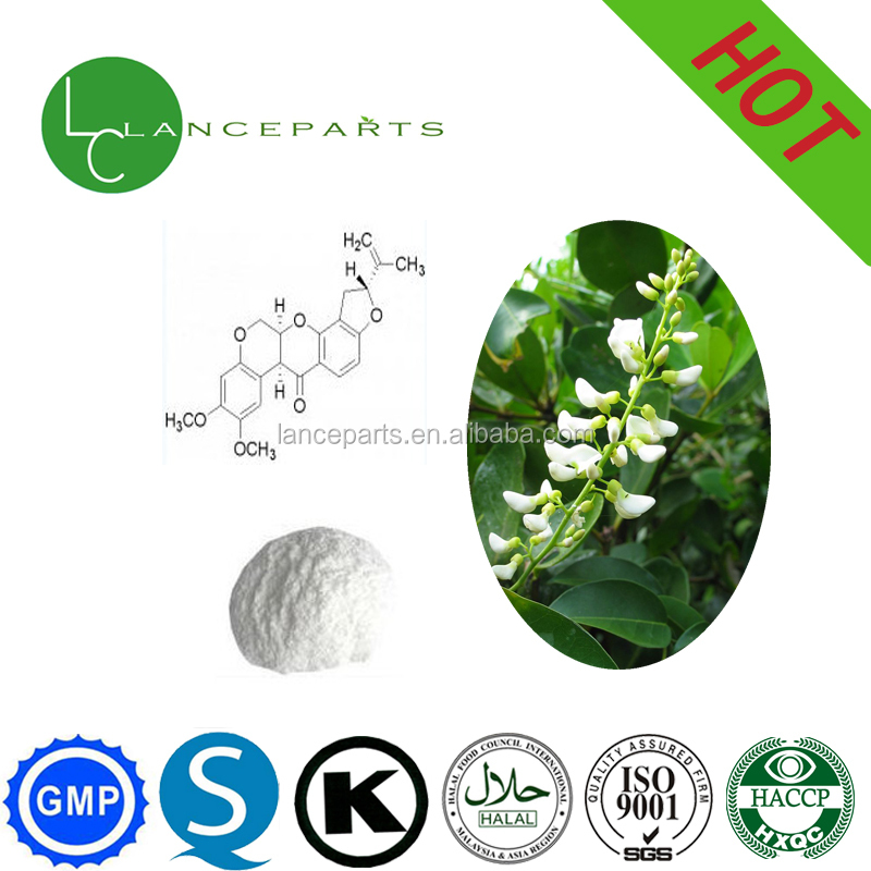 Rotenone 50%-98% for Bio Insecticide Pesticide Powder
