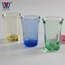 Wholesale 1.5oz solid color souvenirs drinking personalized espresso shot glasses