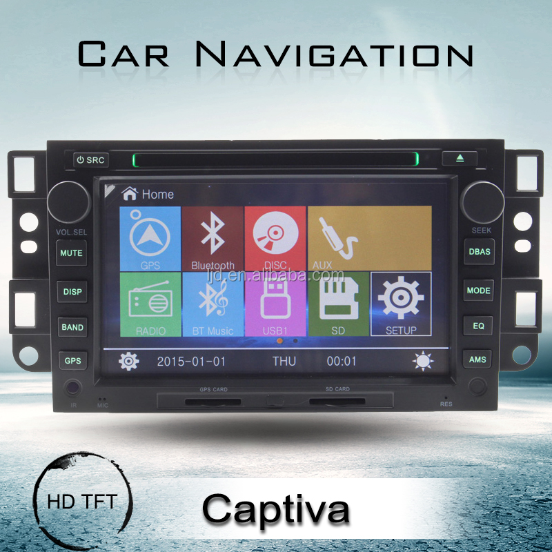 Touch screen Car DVD player for Chevrolet Captiva/Epica/Aveo with GPS navigation