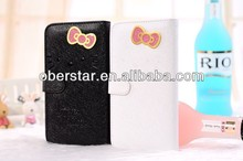 Hello Kitty Cute Style Smart Leather Case Cover for Samsung Galaxy note2