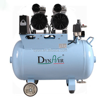 One Driving Three Dental Chair Silent Oil Free Dental Air Compressor DA5002
