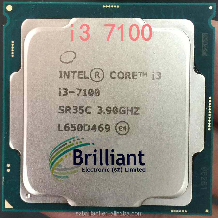 Intel//Intel I3 7100 Boxed Desktop Computer Processor 1151 Pin CPU Dual Core 6100