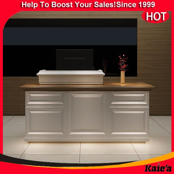 Modern Wooden Shop Counter Design,Wood Cash Counter Design For ...