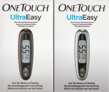 OneTouch Ultra easy Lifescan blood glucose meter