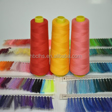 50/2 Dyed Stitching Thread 100% Polyester Yarn For Sewing