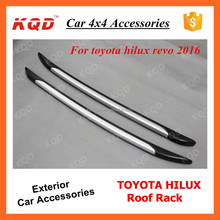 KQD New Products TOYOTA HILUX REVO VIGO 2016 Roof Rack Car Roof Racks With ABS Plastic For REVO HILUX Accessories