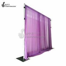 Factory Cheap Backdrop Poles Used Portable Pipe And Drape Wedding Mandap Chuppah For Sale