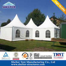 aluminum Cottage Pavilion tent for sale easy to set up on any grond grass dirt