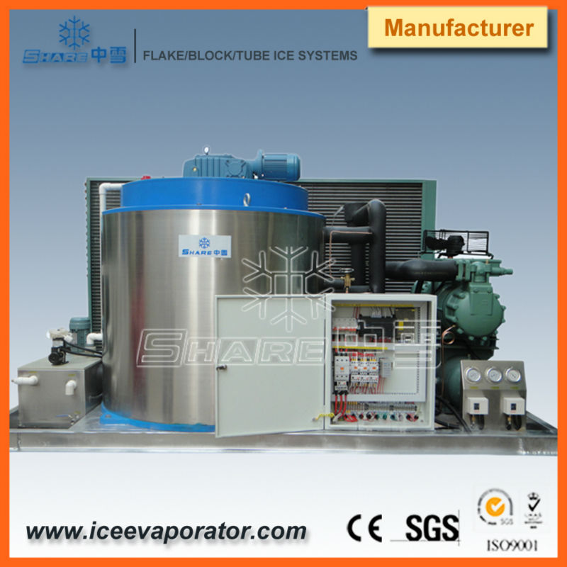 marine flake ice machine ,flake ice plant 2013 china by Share direct cooling