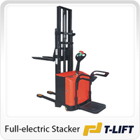 1.5 Ton stand-on full electric stacker price