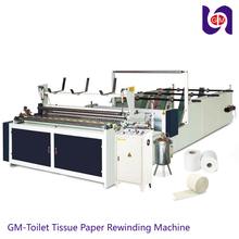 Jumbo Roll Tissue Converting Perforator Slitter Rewinder Machine For Making Rolling Paper