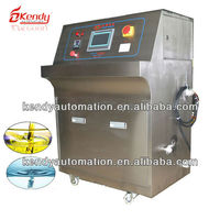 Water and oil measuring equipment for making foodstuff