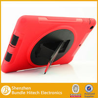 silicon shockproof case for ipad air with kickstand function